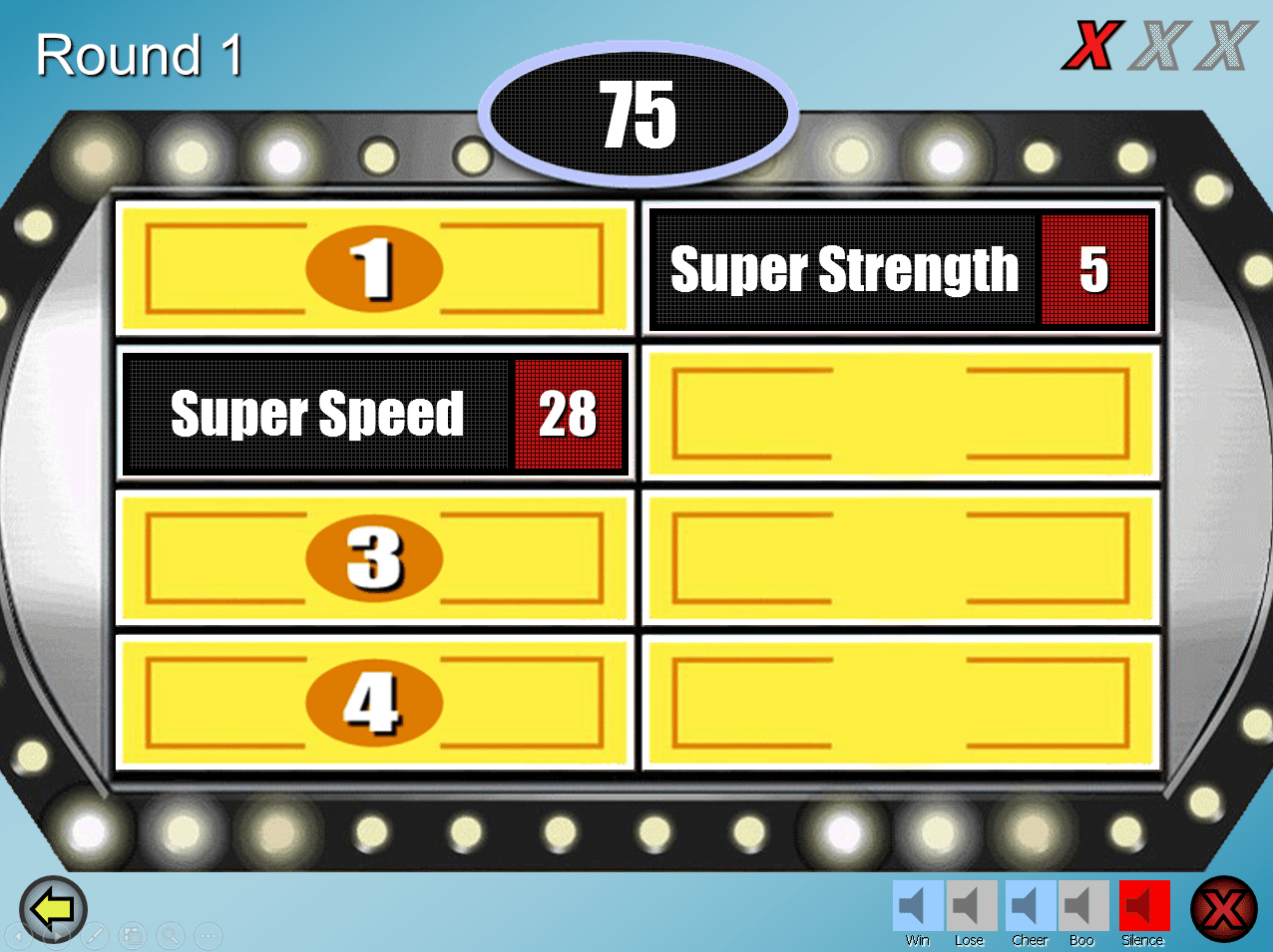 Make Your Own Family Feud Game With These Free Templates throughout Powerpoint Template Games For Education