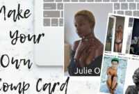Make Your Own Model Comp Card ◊ Frameambition Intended For in Free Comp Card Template