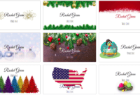 Making Your Own Holiday Place Cards At Home | Place Card Me within Christmas Table Place Cards Template