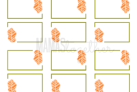 Mamas Together: Thanksgiving Place Card Printables & Diy inside Thanksgiving Place Card Templates