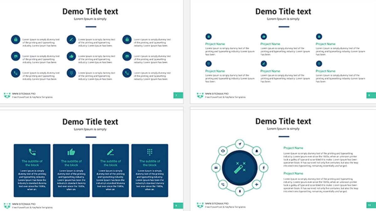 Marketing Plan Free Powerpoint Template - Powerpointify inside Strategy Document Template Powerpoint