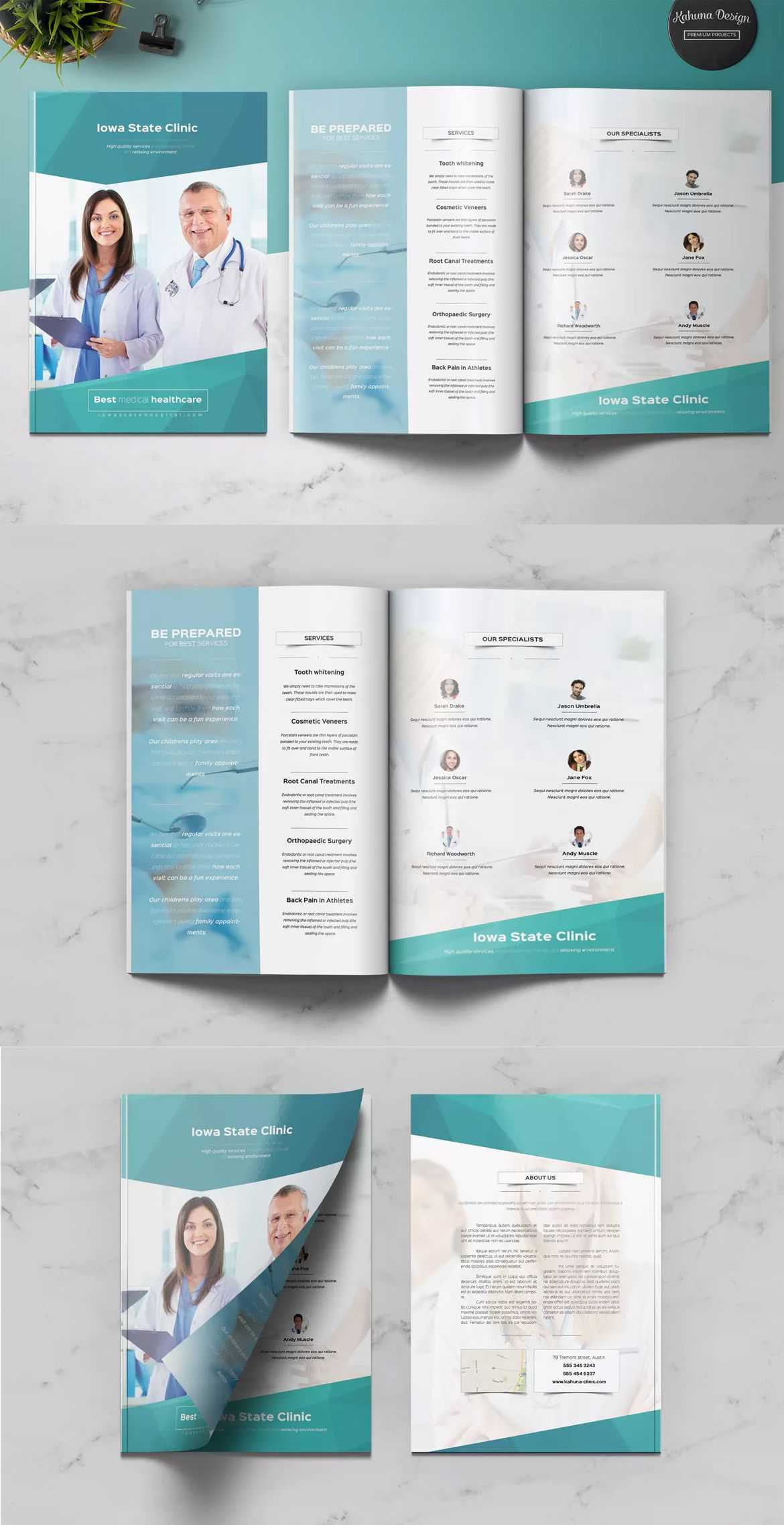 Medical Multipurpose Brochure Template Indesign Indd - A4 + Throughout Letter Size Brochure Template