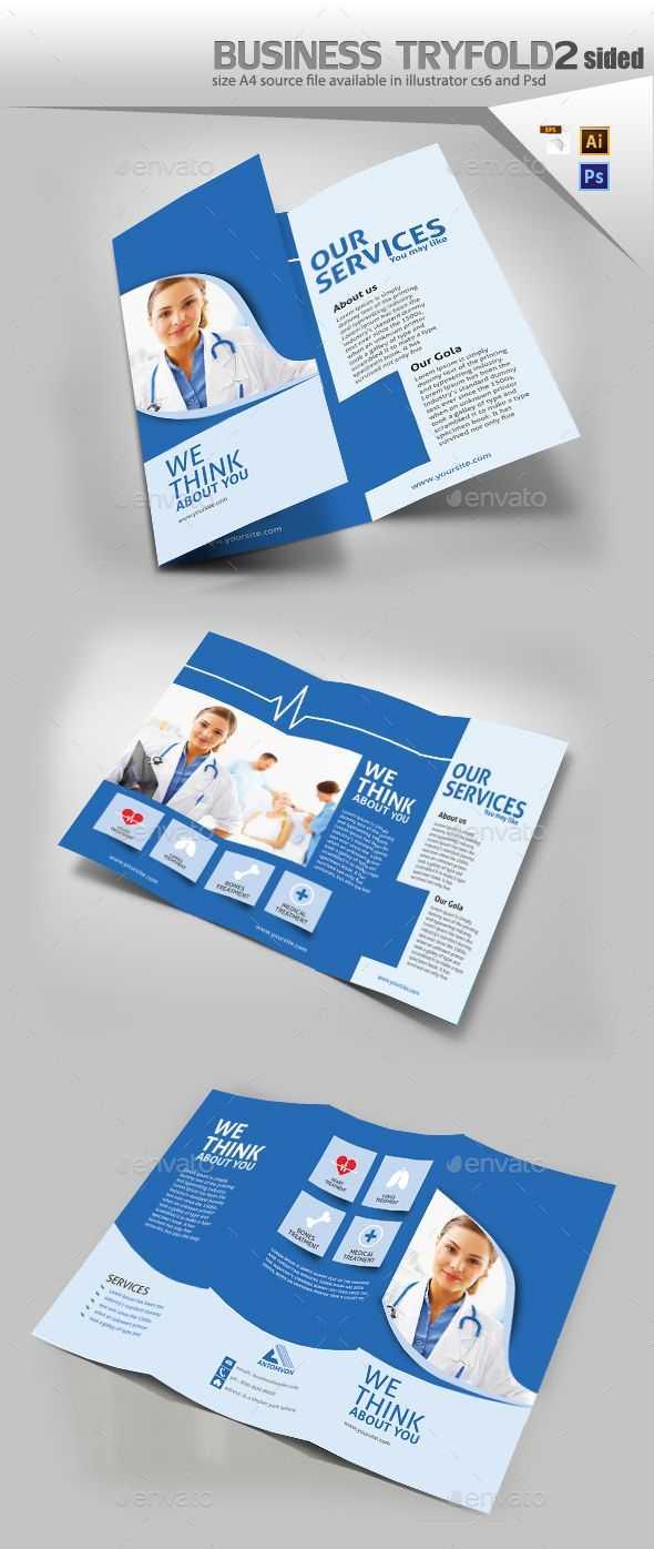 Medical Trifold Brochure | Graphics | Brochure Design inside Medical Office Brochure Templates