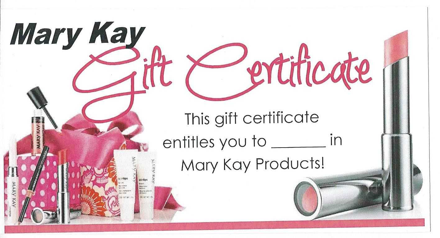Mk Gift Certificate … | My Mk In 2019 | Mary Kay in Mary Kay Gift Certificate Template