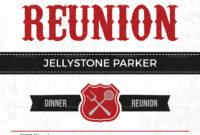 Modern Family Reunion Invitation Card Template intended for Reunion Invitation Card Templates