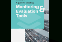 Monitoring And Evaluation Tools – Social Impact intended for Monitoring And Evaluation Report Writing Template