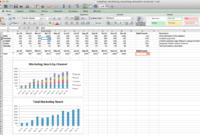 Monthly Digital Marketing Kpi Reporting Template | Social for Social Media Marketing Report Template