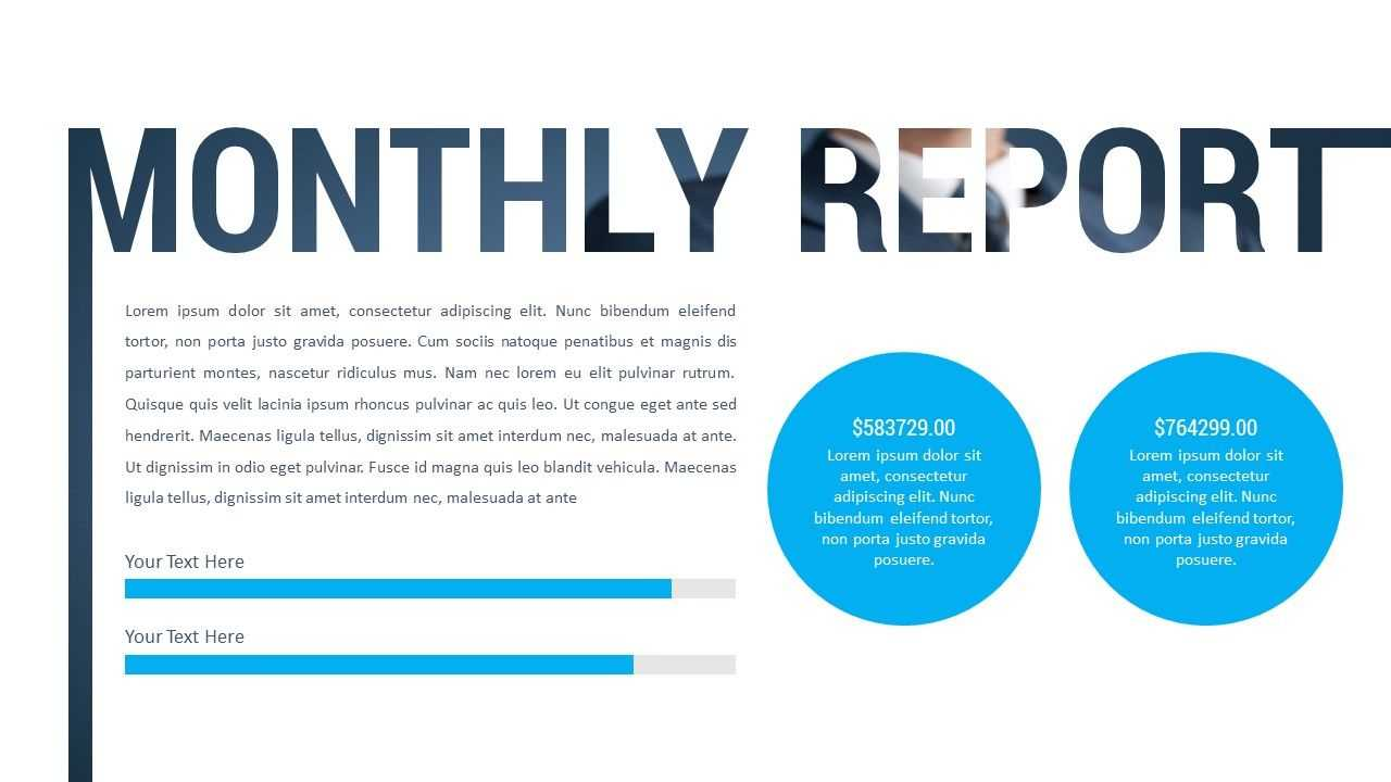 Monthly Report Powerpoint Presentation Our Top Rated pertaining to Monthly Report Template Ppt