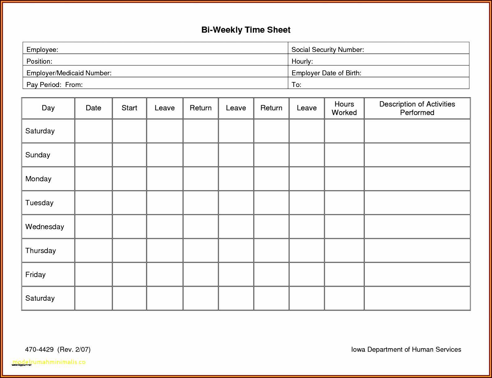 Multiple Employee Timesheet Free Then Awesome Biweekly Throughout Weekly Time Card Template Free