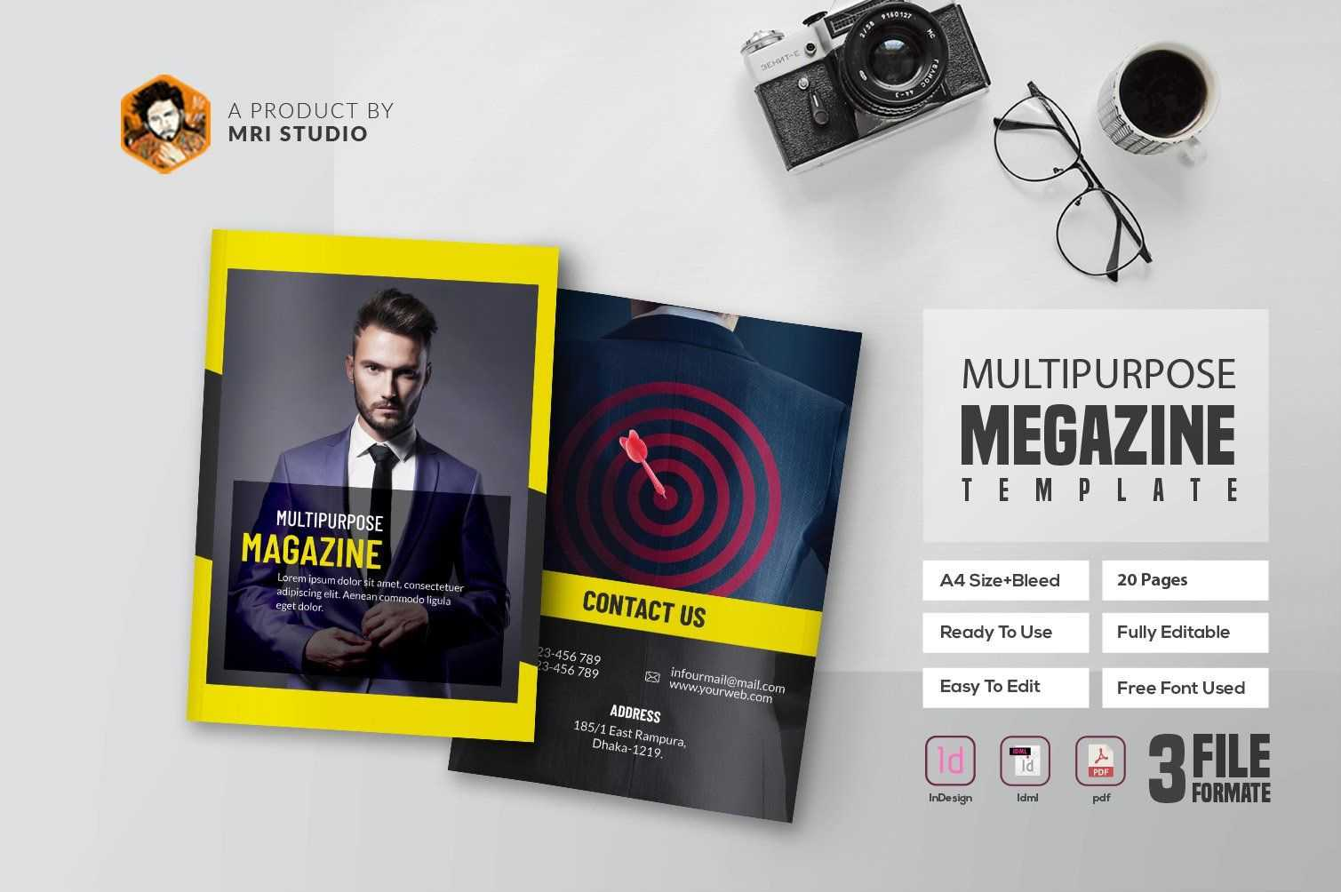 Multipurpose Magazine #ad , #affiliate, #quot#word Intended For Magazine Ad Template Word