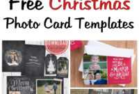 Musings Of An Average Mom: Free Photo Christmas Card Templates intended for Free Christmas Card Templates For Photographers