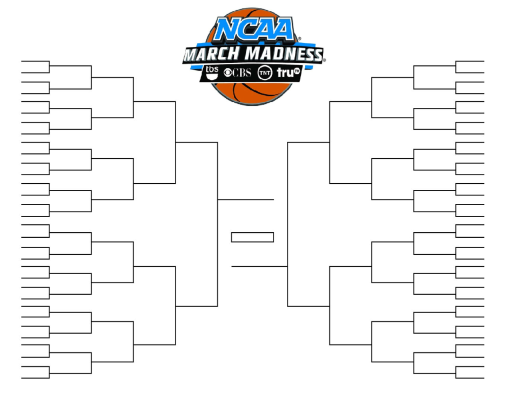 Ncaa Tournament Bracket In Pdf: Printable, Blank, And Fillable Intended For Blank Ncaa Bracket Template