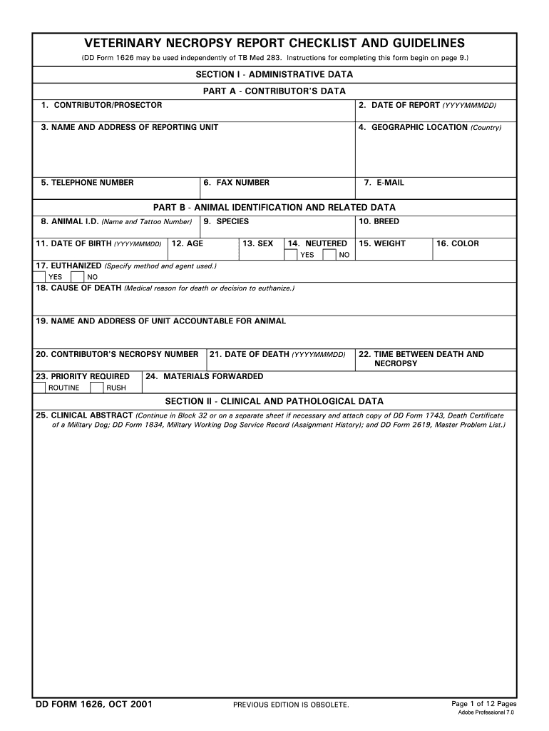 Necropsy Report Template - Fill Online, Printable, Fillable throughout Autopsy Report Template