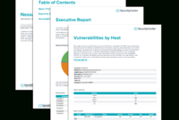 Nessus Scan Report – Sc Report Template   Tenable® for Nessus Report Templates