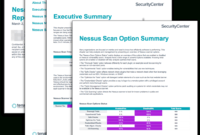 Nessus Scan Summary Report – Sc Report Template   Tenable® within Nessus Report Templates