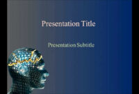 Neurology Powerpoint Template – Prometei with regard to Radiology Powerpoint Template