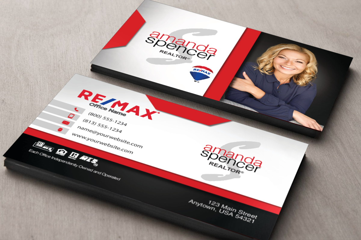 New Remax Business Cards Are Here And Easier Than Ever To in Office Max Business Card Template