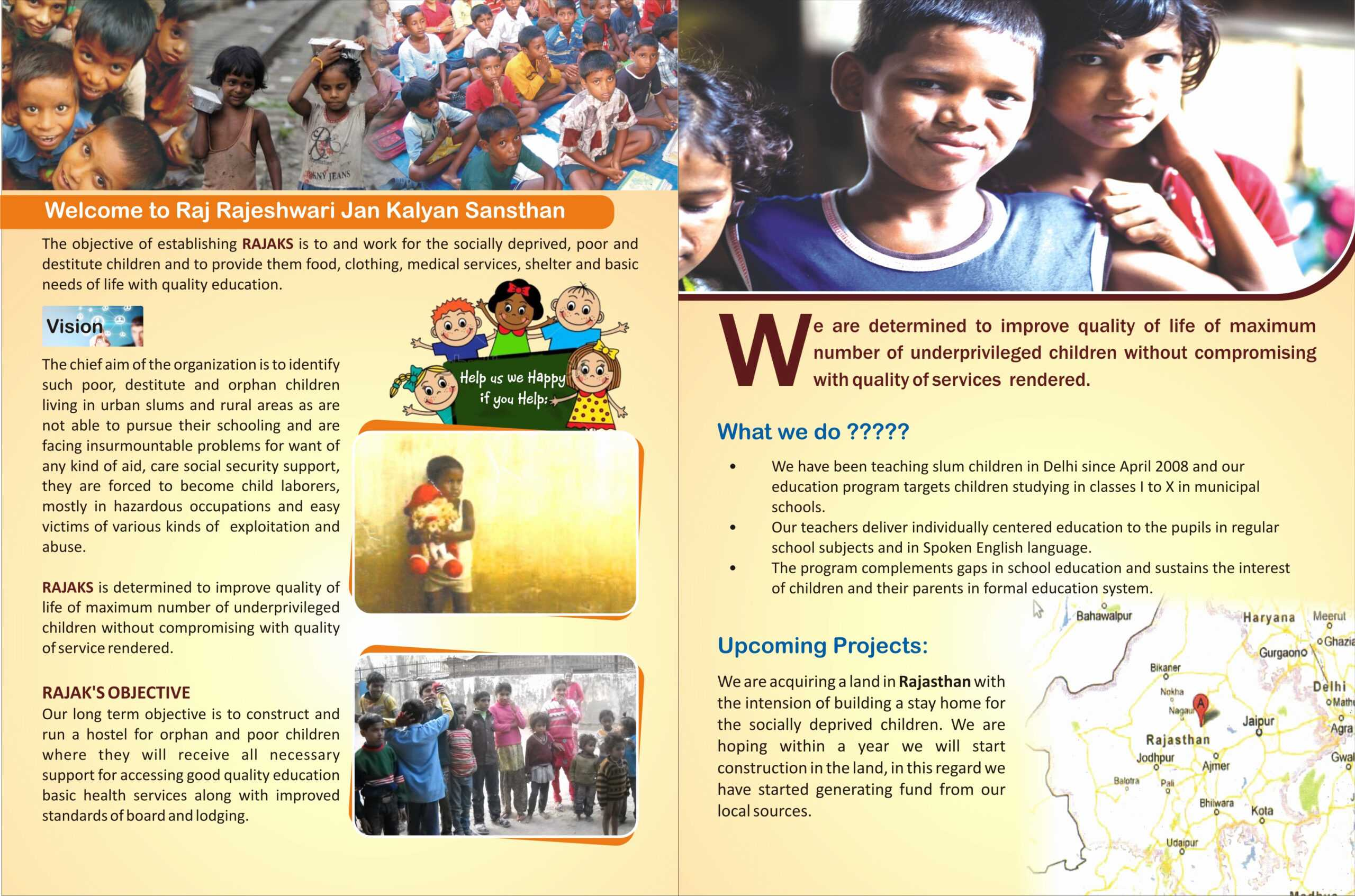 Ngo Brochure Templates Sample Flyers For Organizations 25 With Ngo Brochure Templates