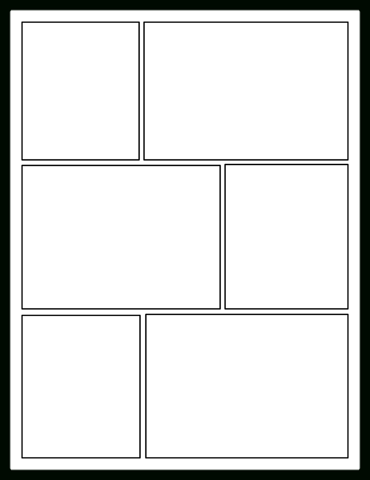 Offering Choices For Your Readers: Comic-Book Craze! | Comic regarding Printable Blank Comic Strip Template For Kids