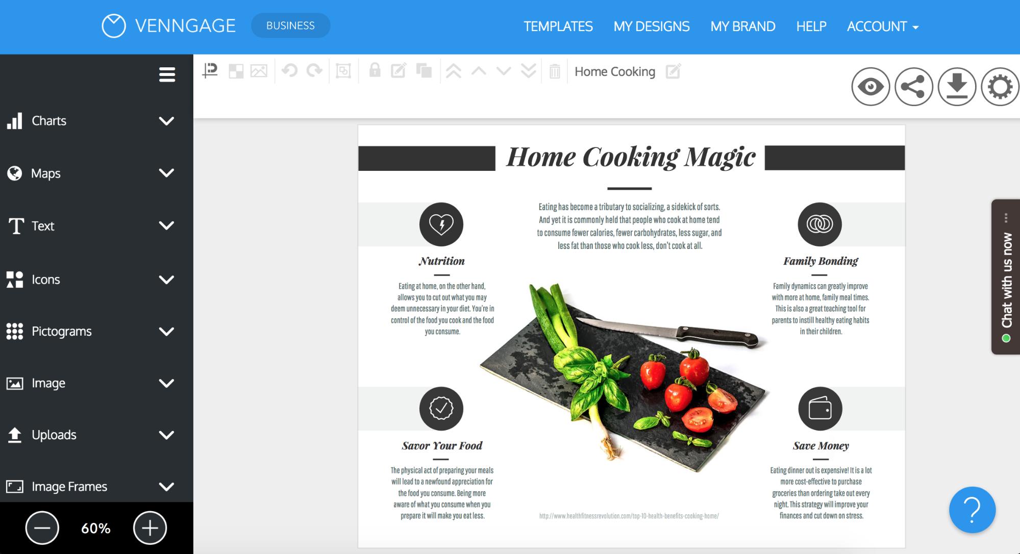 Online Brochure Maker: Design A Brochure For Free Throughout Online Brochure Template Free