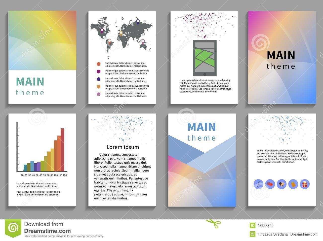 Online Brochure Template Free Ukran Agdiffusion Com regarding Online Brochure Template Free