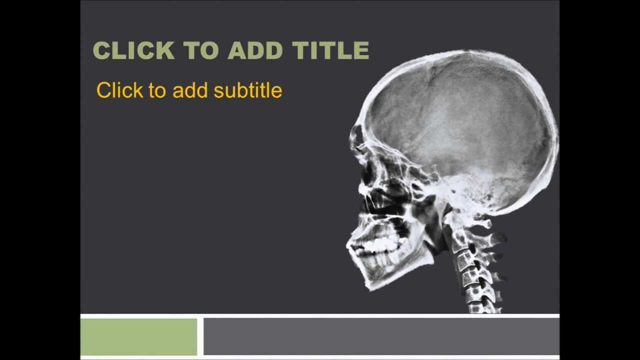 Orthopedics Powerpoint Template - Free Download ~ Free in Radiology Powerpoint Template