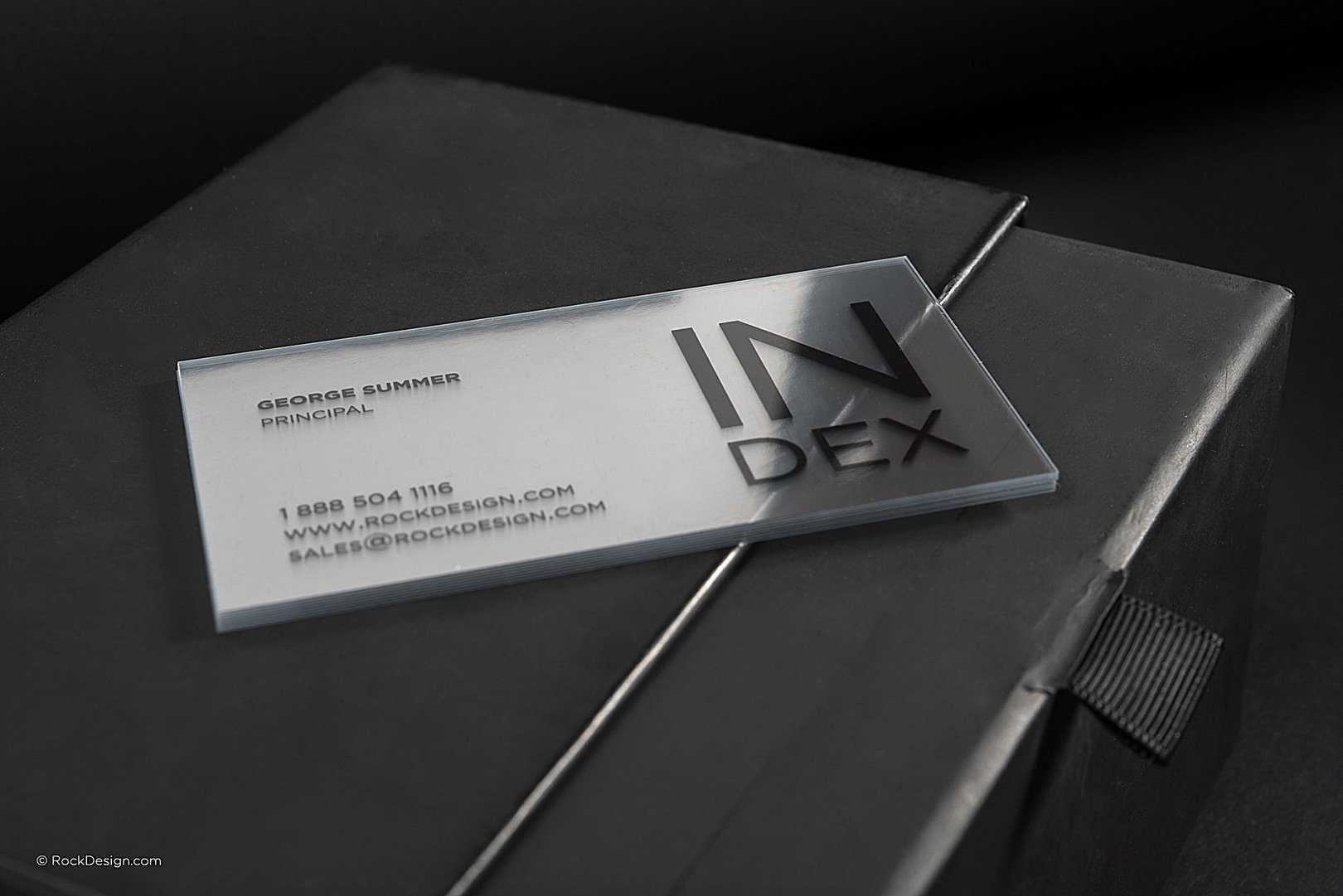Over 100 Free Online Unique Templates   Rockdesign Throughout Transparent Business Cards Template