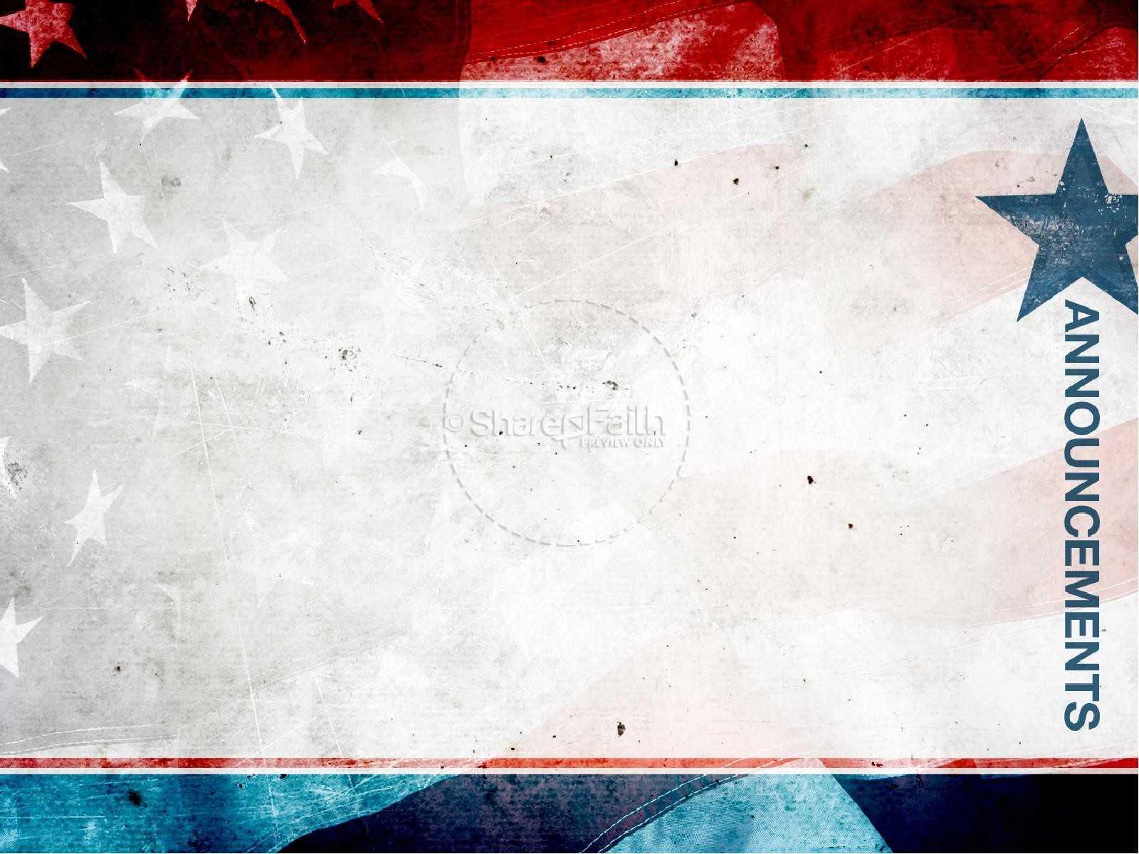 Patriotic Powerpoint Template - Atlantaauctionco For Patriotic Powerpoint Template