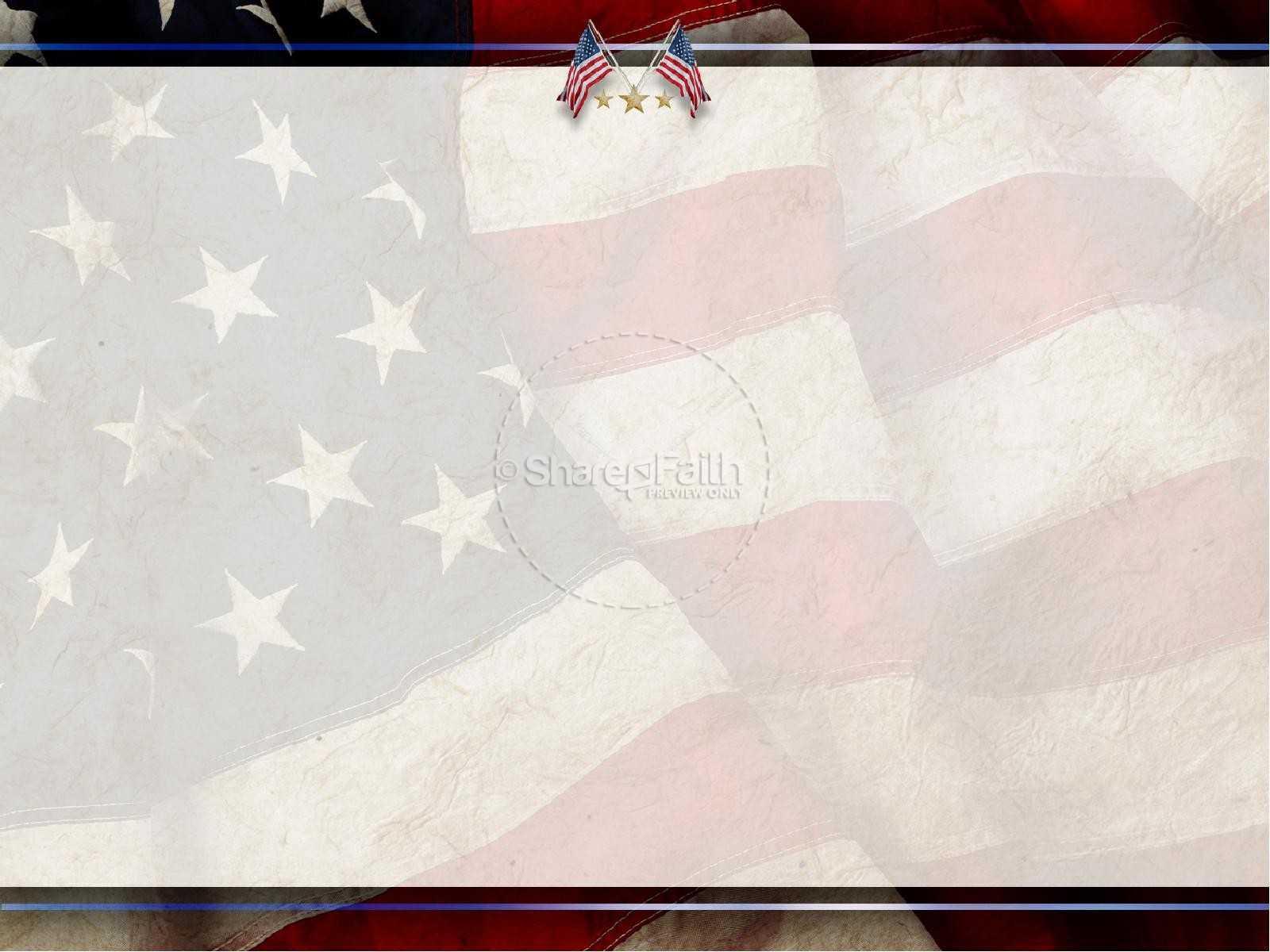 Patriotic Powerpoint Templates Free Powerpoint Backgrounds With Regard To Patriotic Powerpoint Template