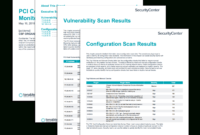 Pci Continuous Monitoring Report – Sc Report Template | Tenable® for Compliance Monitoring Report Template