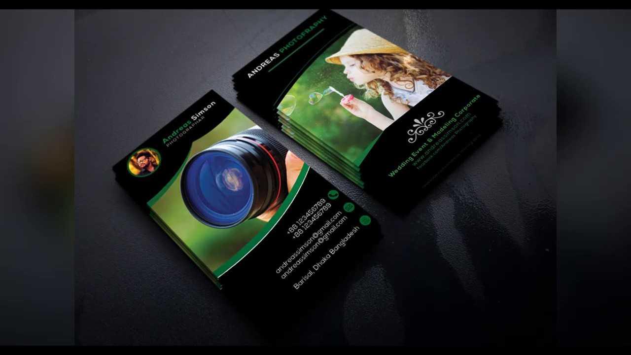 Photography Business Card Design Templates Photo Studio for Photography Business Card Template Photoshop