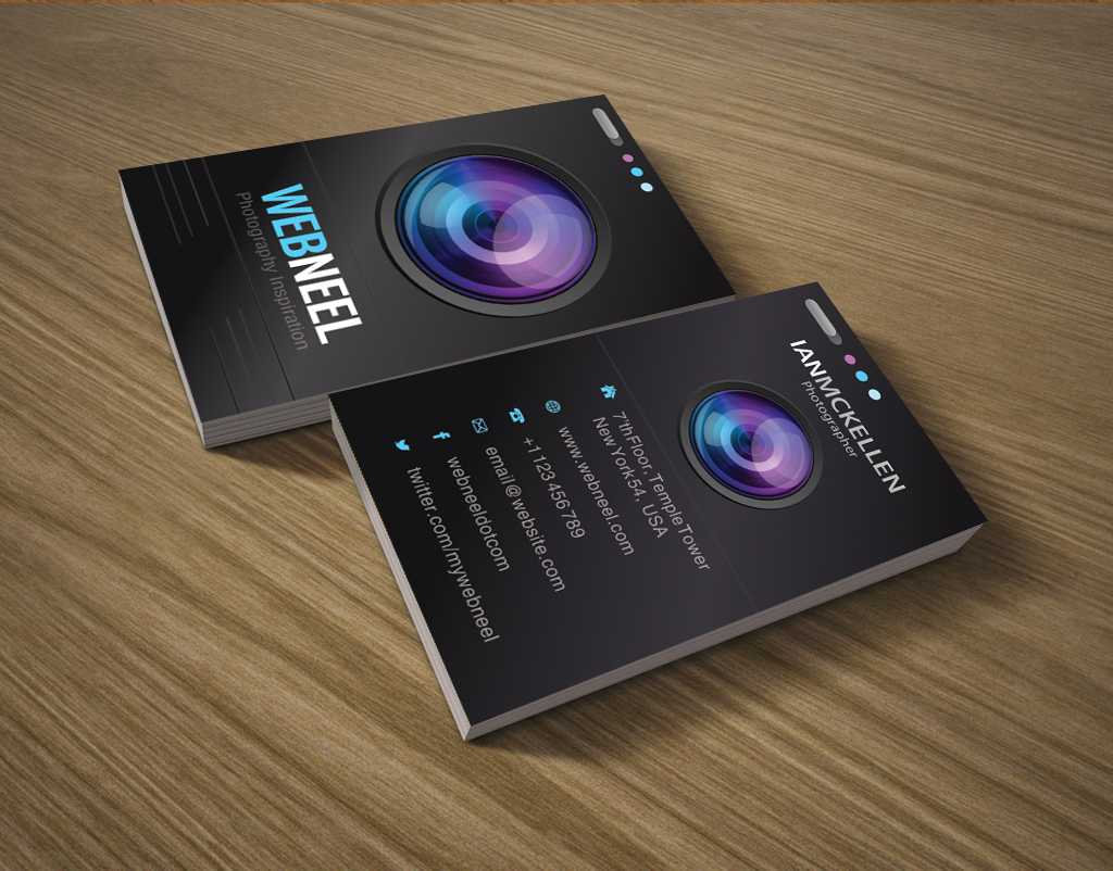 Photography Business Card Design Templates Template 35 Pertaining To Photography Business Card Templates Free Download