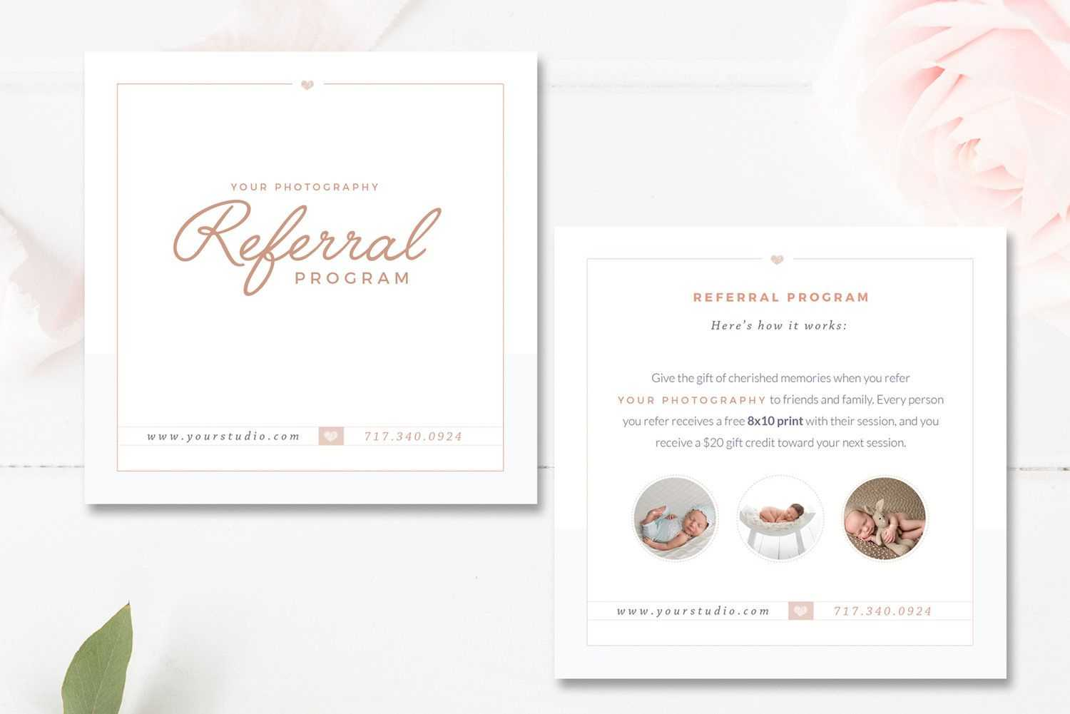 Photography Referral Card Templates, Referral Program Intended For Photography Referral Card Templates