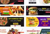 Photoshop Free Download – Food Banner Templates For Facebook in Food Banner Template