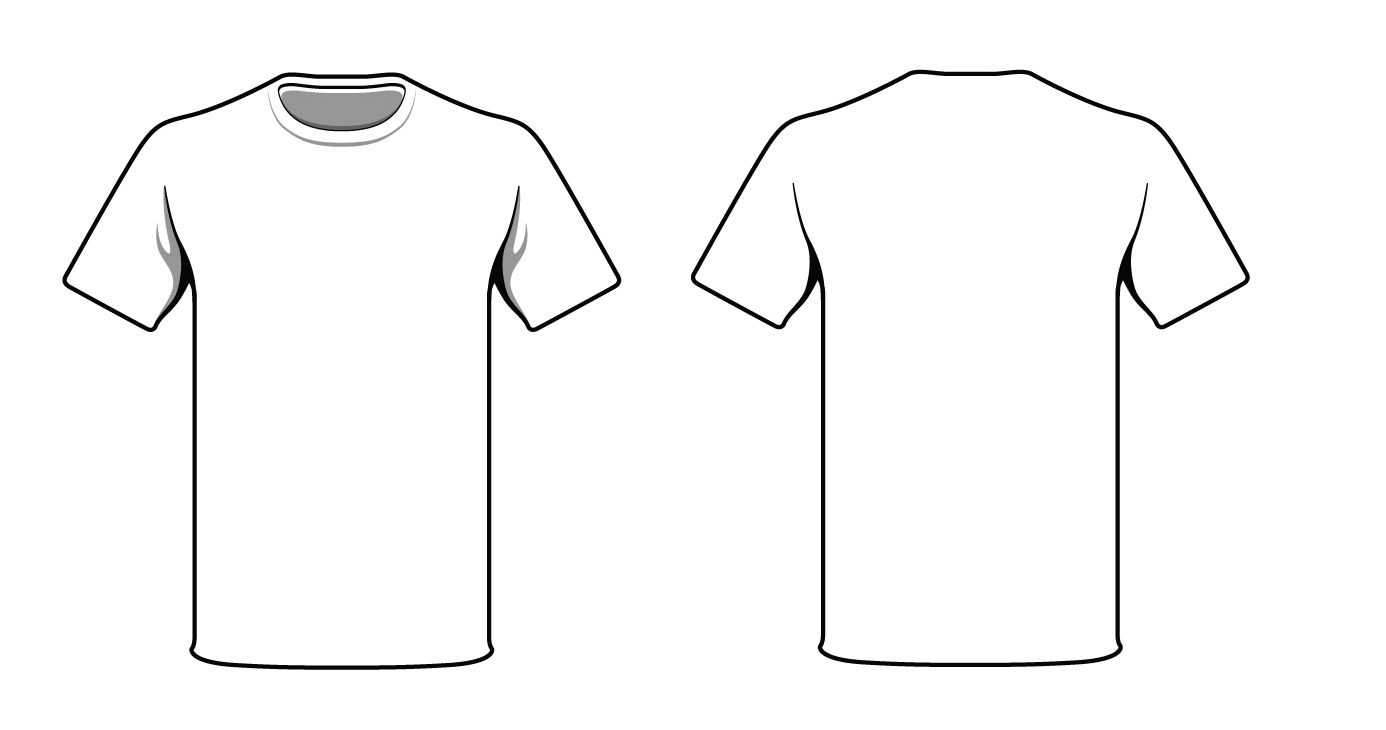 Pin On Cool Craft Idea's Within Blank T Shirt Outline Template