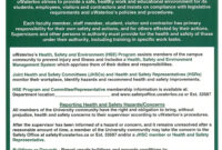Pin On Health And Fitness throughout Annual Health And Safety Report Template