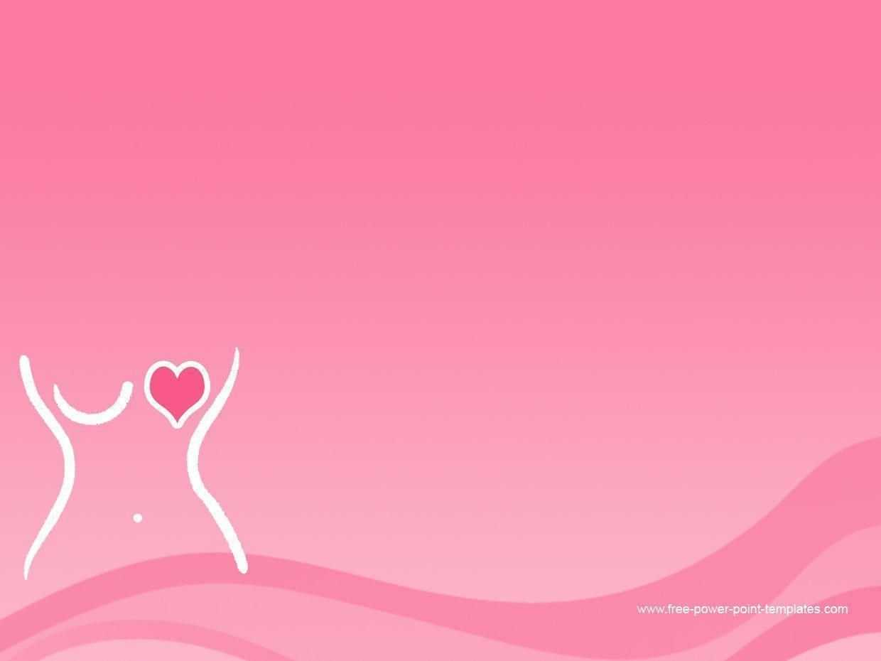 Pin On Tickled Pink for Free Breast Cancer Powerpoint Templates