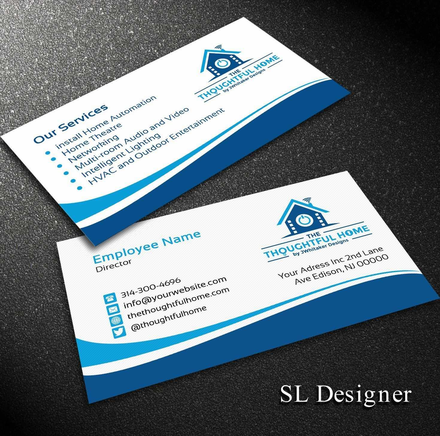 Pinanggunstore On Business Cards throughout Hvac Business Card Template