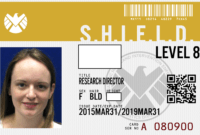 Pinbrooklynn Meyer On Awesome | Agents Of Shield, Spy Throughout Shield Id Card Template