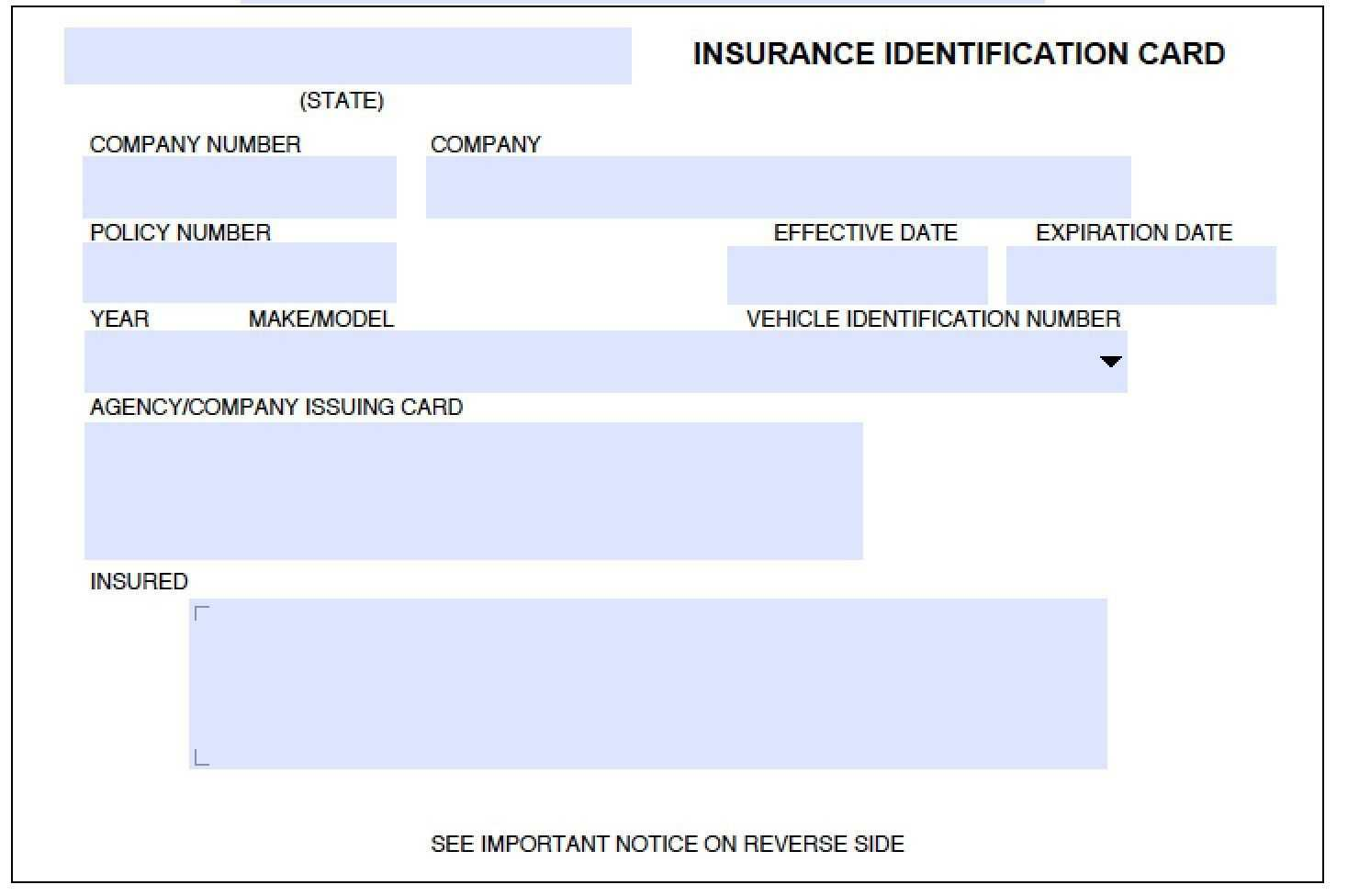 Pindinding 3D On Remplates And Resume In 2019 | Car Within Auto Insurance Id Card Template
