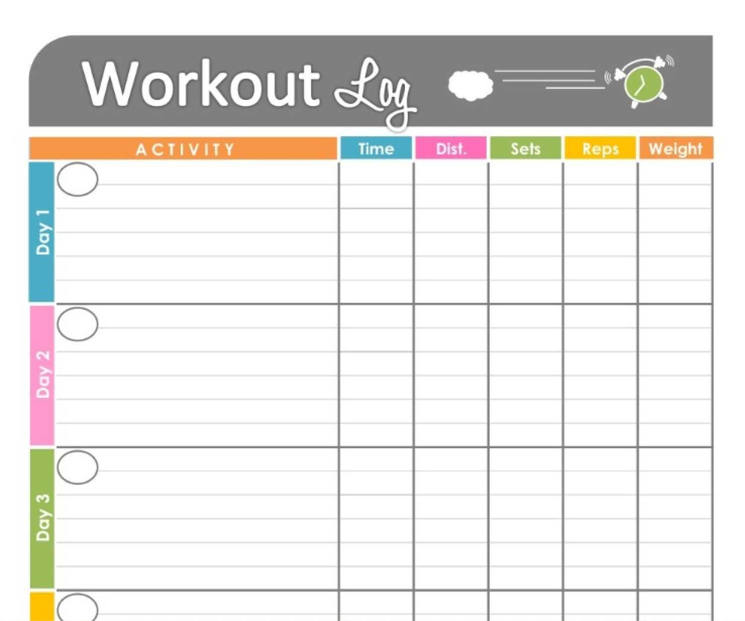 Pinkristy Winburn Revels On School Planners & Supplies With Regard To Blank Workout Schedule Template