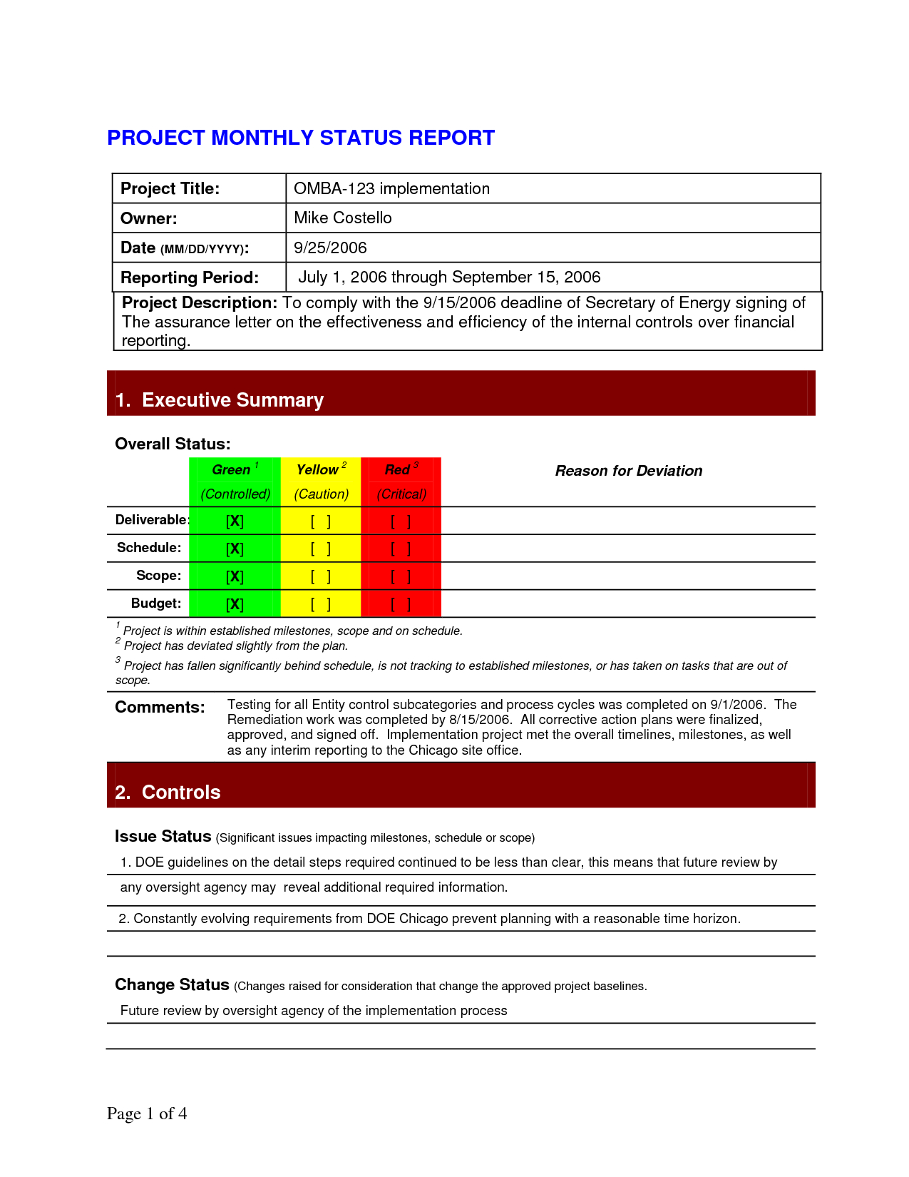 Pinlesedi Matlholwa On Templates | Progress Report With Regard To Executive Summary Project Status Report Template