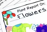 Plant Research Project – Report Writing Templates within Research Project Report Template