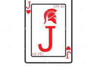Playing Card Vector Icon Illustration Design Stock Vector with regard to Playing Card Design Template