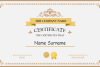 Polished Design Certificate For Powerpoint | Certificate inside Award Certificate Template Powerpoint