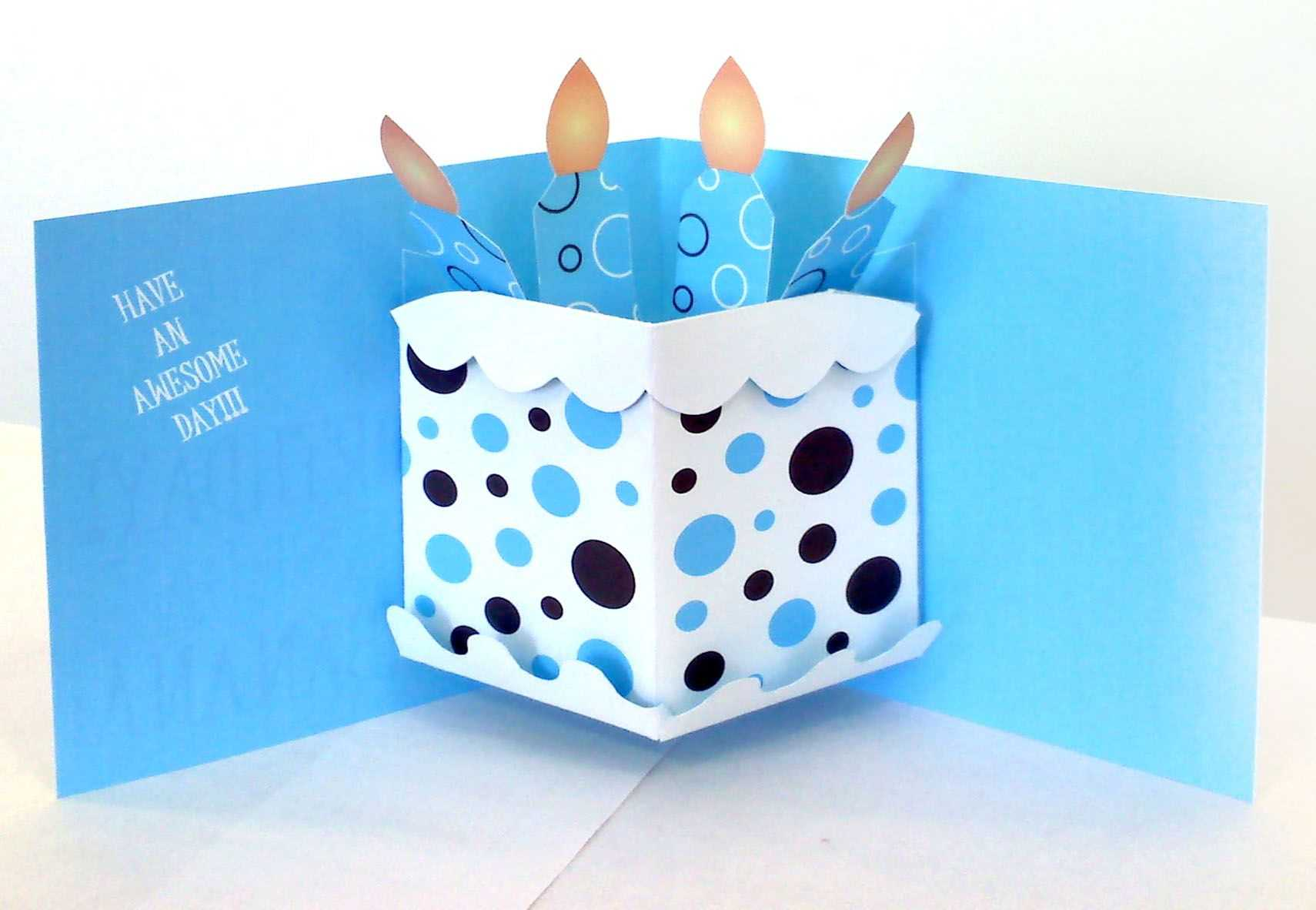 Pop Up Birthday Card | Pop Up Card Templates, Birthday Card within Pop Up Card Templates Free Printable