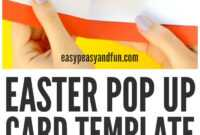 Pop Up Easter Card Template Ks2 – Hd Easter Images With for Easter Card Template Ks2