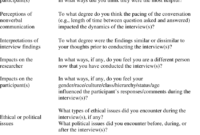 Possible Debriefing Topics (Onwuegbuzie Et Al., 2008) And with regard to Debriefing Report Template