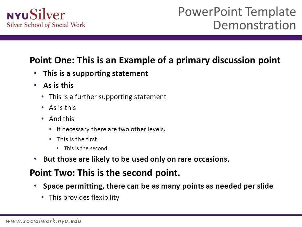 Powerpoint Template Demonstration Dr. John Smith Nyu Silver With Nyu Powerpoint Template