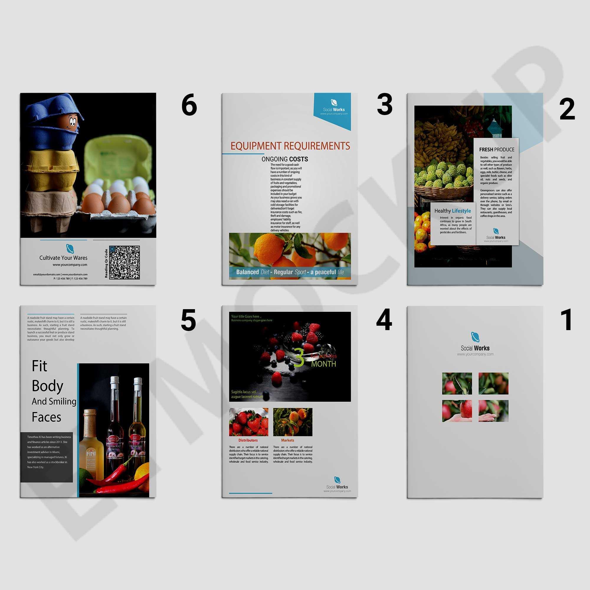 Premium Wine Brochure Template | Eymockup For Wine Brochure Template